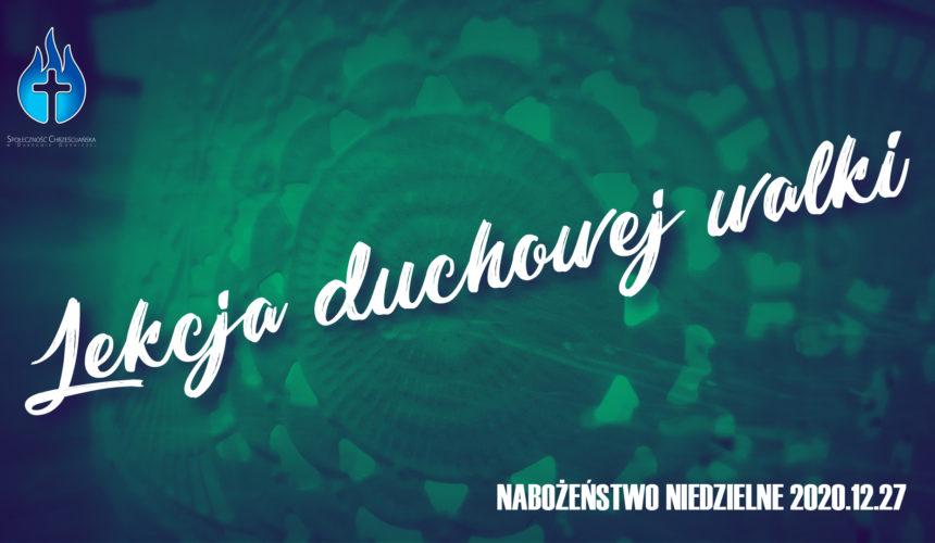 Lekcja duchowej walki! Ewangelia Marka cz. 5